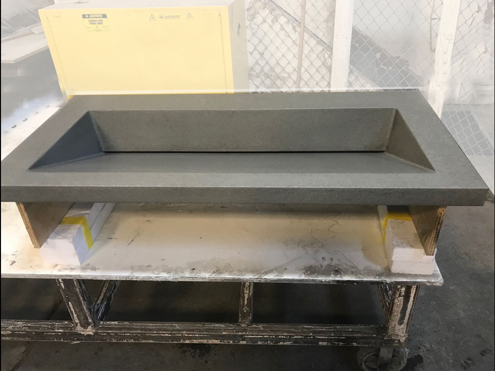 Factory Seconds Of Concrete Countertops And Concrete Sinks