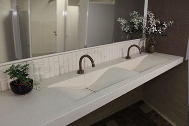 Concrete Countertops And Concrete Sinks