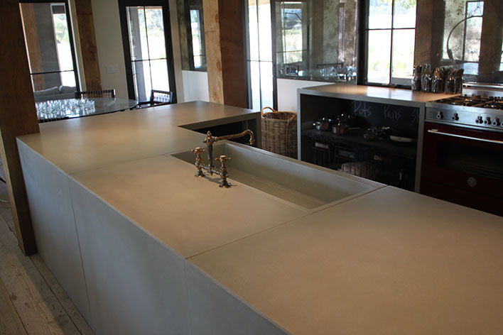 Concrete Farm Sinks For The Kitchen
