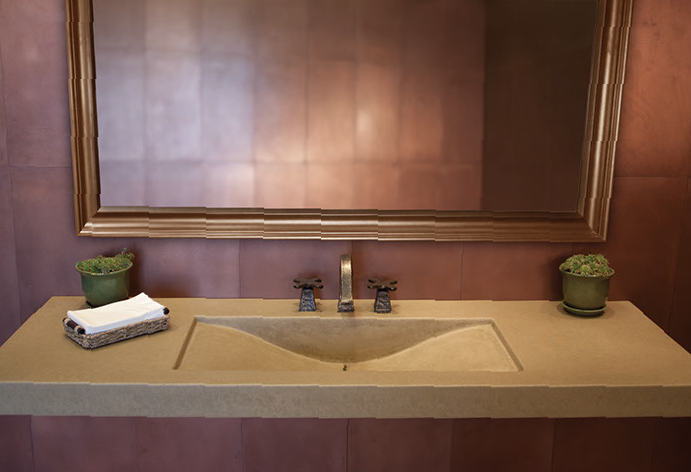 Public Bathroom Sink concrete sinks for the restaurant and public restroomssonoma