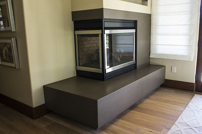 Concrete Fireplaces And Fireplace Surrounds By Sonoma Cast
