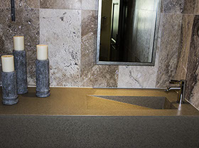 Concrete Sinks concrete countertops and concrete sinks in the home