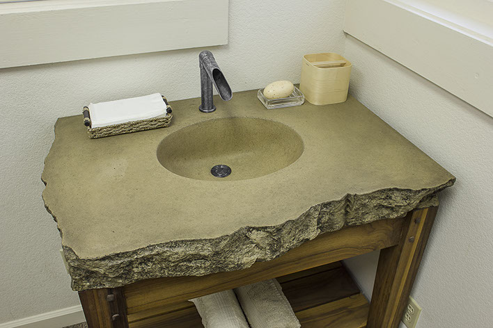 Specialty Concrete Counter Bath Bar Sinks