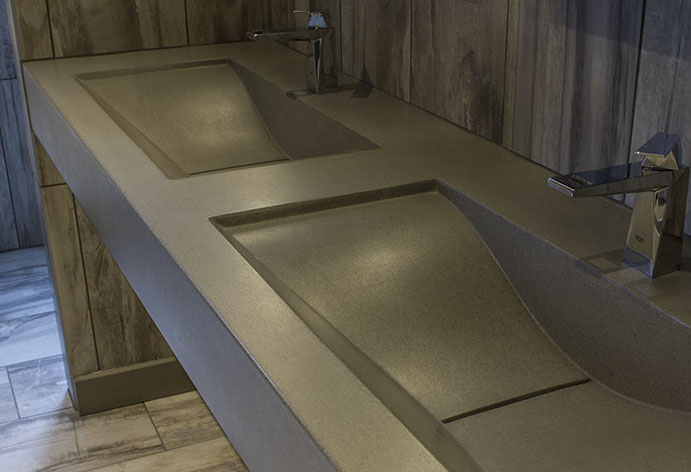 Bon Concrete Wave Sinks