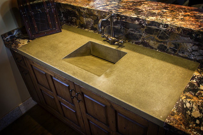 Concrete Ramp Sinks