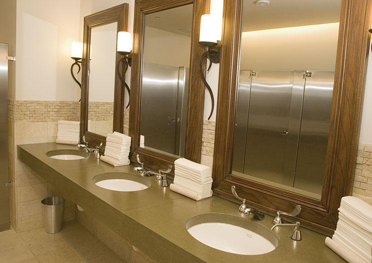 Concrete Countertops With Undermount Sinks
